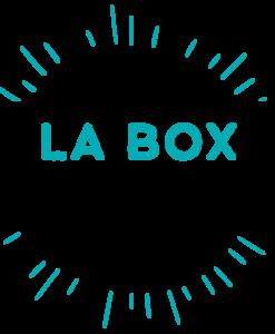 Logo turquoise de la box entrepreneuriat
